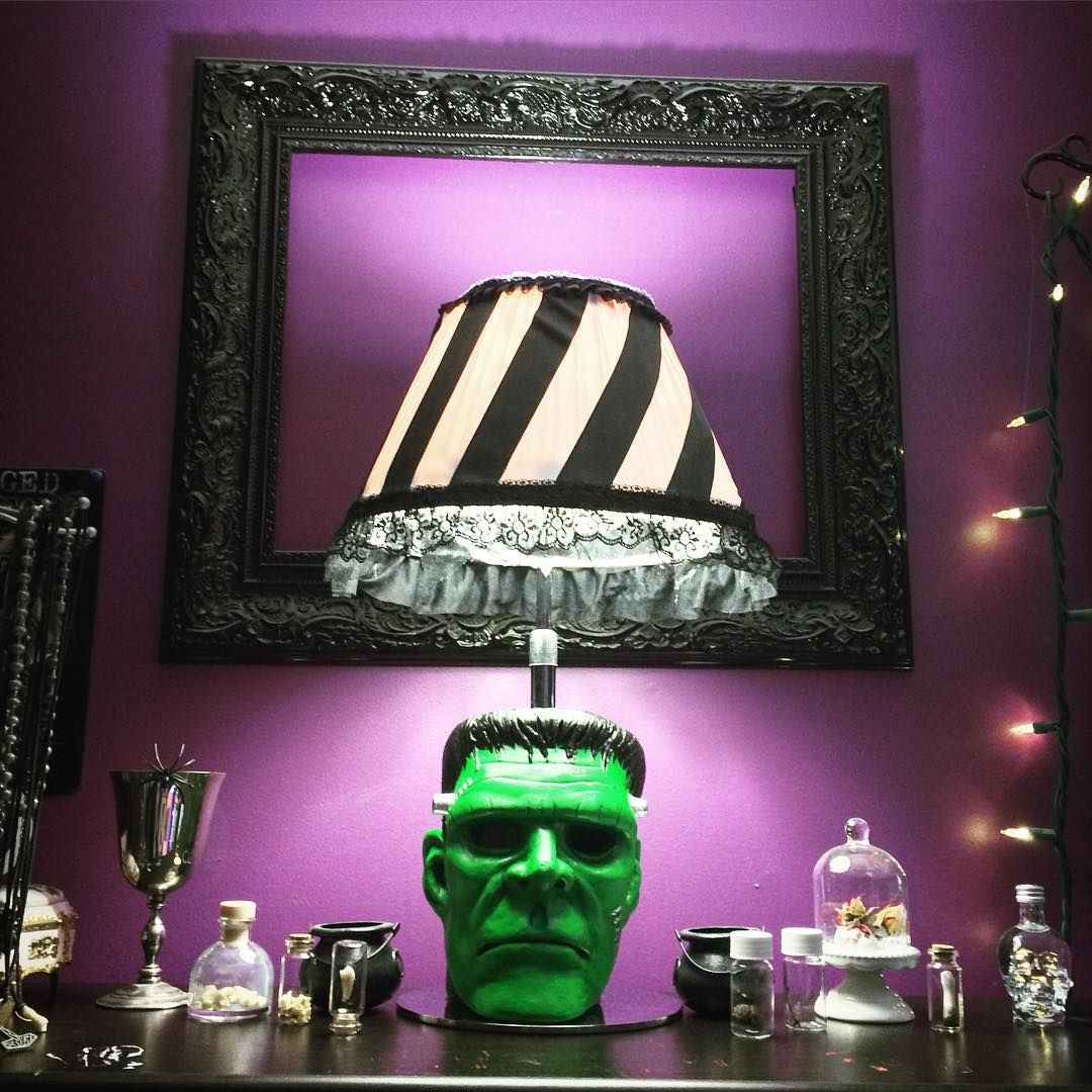 Lily Grove Halloween Lamps Goth Home Decor Horror Decor