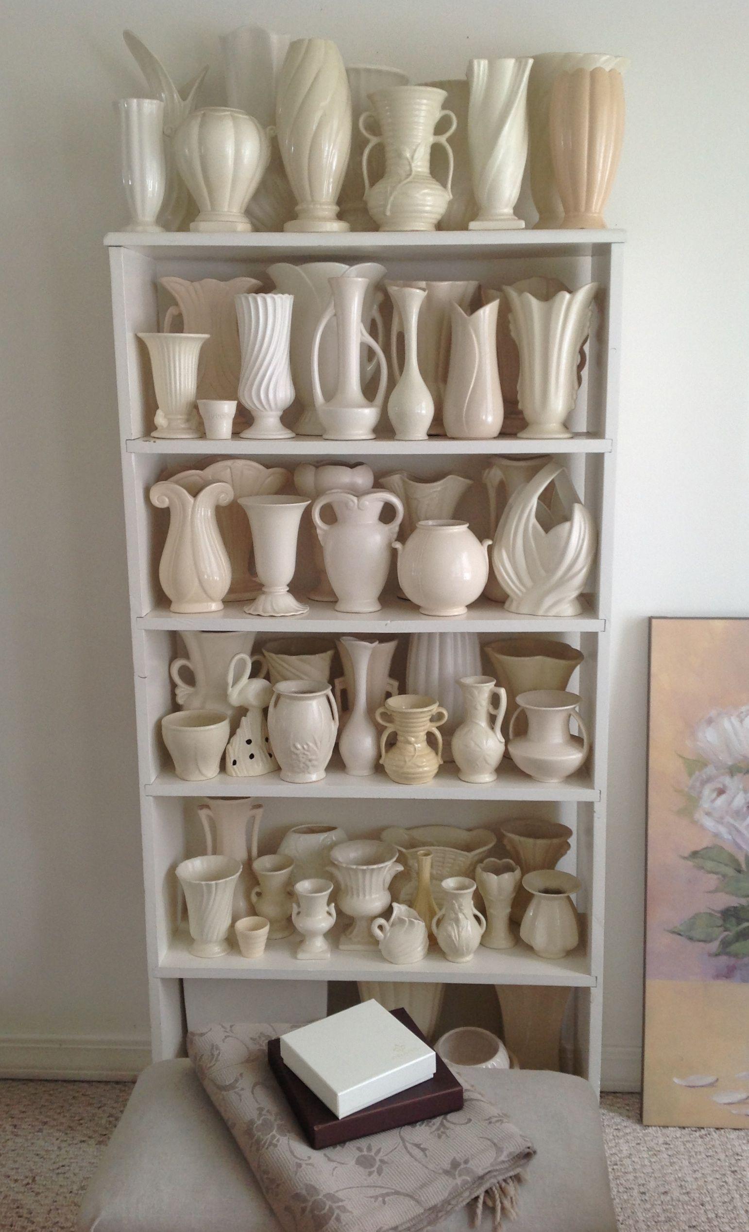 Susan mackenzie like your white pottery collection fab susan mackenzie like your white pottery collection fab vintage vasesvintage floridaeventfo Choice Image