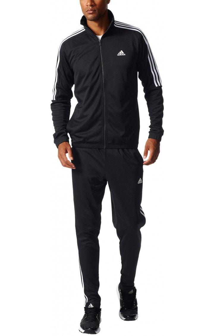 5f4cdedbc4fb Adidas Tracksuit Tiro Ts Black en 2019