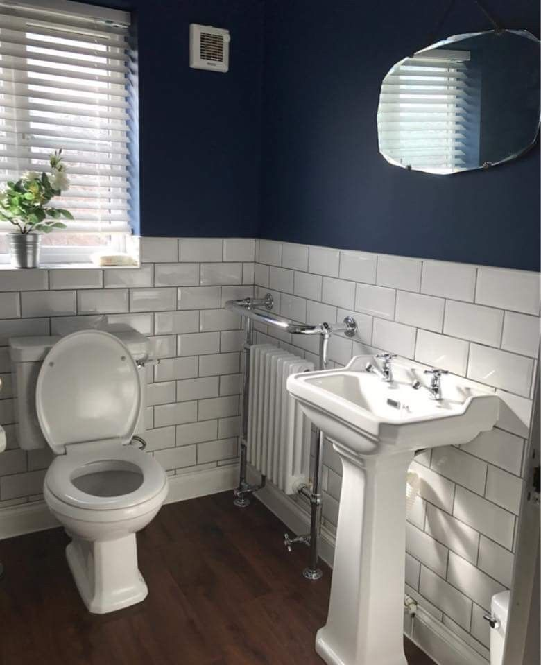 Our Bathroom In Our New House Definitely On A Budget As The Whole House Has Need French Country Bathroom Bathroom Inspiration Modern Bathroom Remodel Designs
