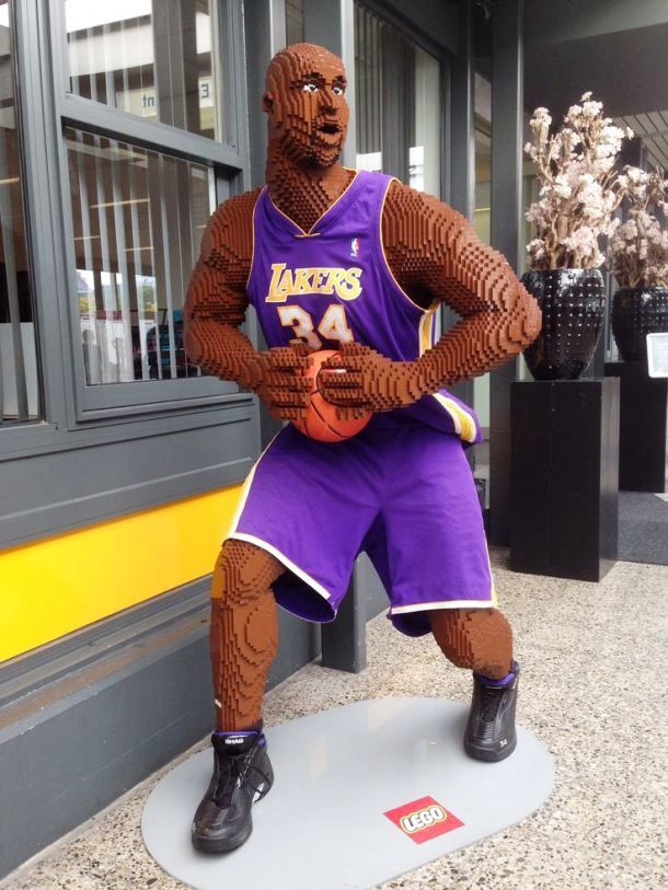 Image result for Life-sized NBA Figure