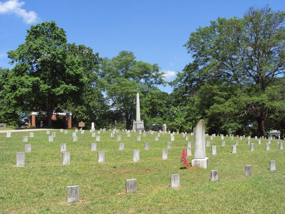 Georgia Confederate Cemetery in Marietta, Ga