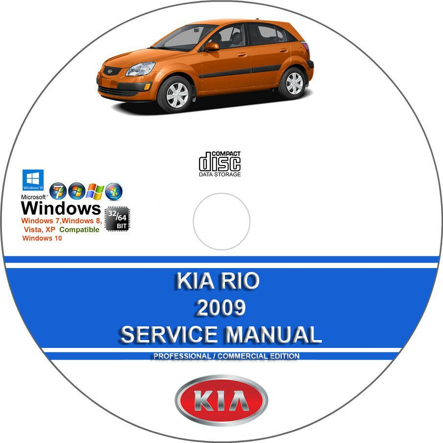 Advertisement Ebay Kia Rio 2009 Service Repair Manual On Dvd With Images Repair Manuals Kia Rio Kia