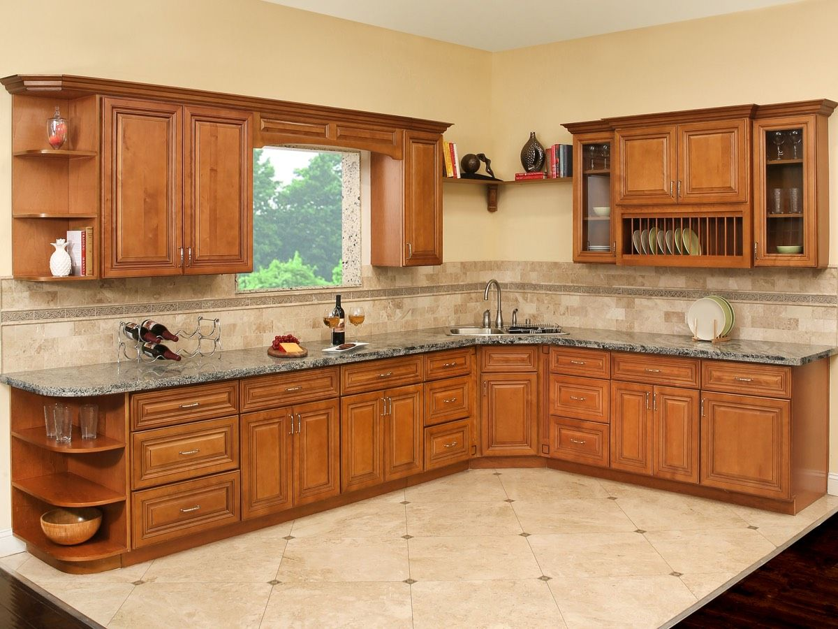Kitchen Cabinet Images Google Search In 2020 Solid Wood Kitchen Cabinets Kitchen Cabinets Cherry Wood Cabinets