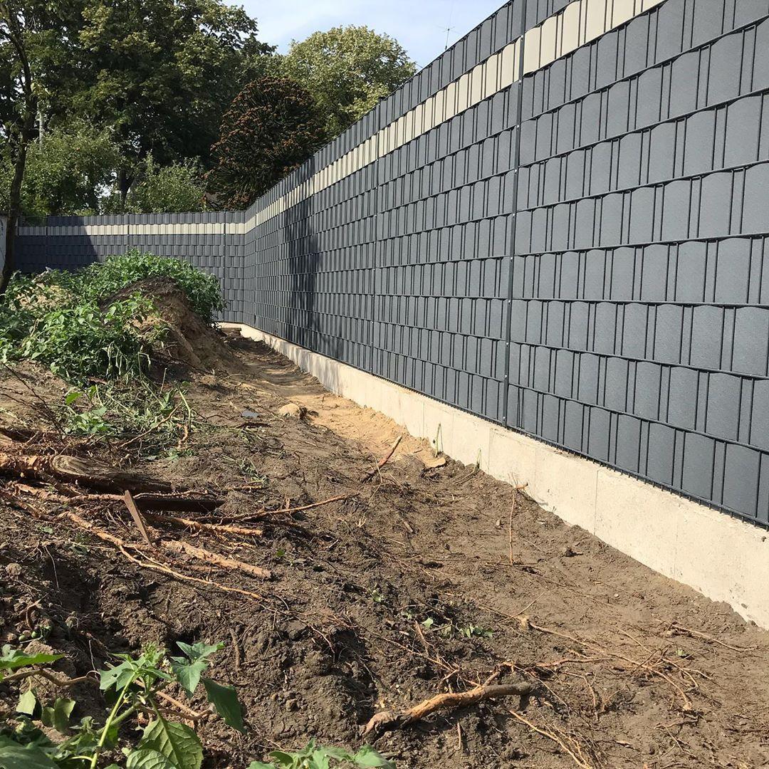 Zaunbau Gartengestaltung Doppelstabmattenzaun Sichtschutzzaun