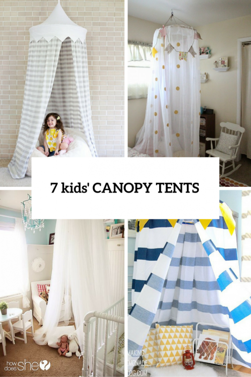 7 Easy And Cool DIY Kidsu0027 Canopy Tents For Indoors | Shelterness & 7 Easy And Cool DIY Kidsu0027 Canopy Tents For Indoors | Shelterness ...