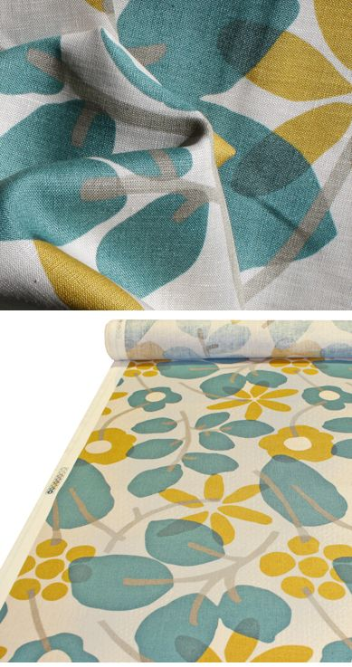 braemore 'hip chicks' teal   Teal fabric, Retro fabric ...