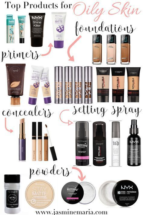 Photo of Top-Make-up-Produkte für fettige Haut – #Makeup #Oily #Products #Skin #Top