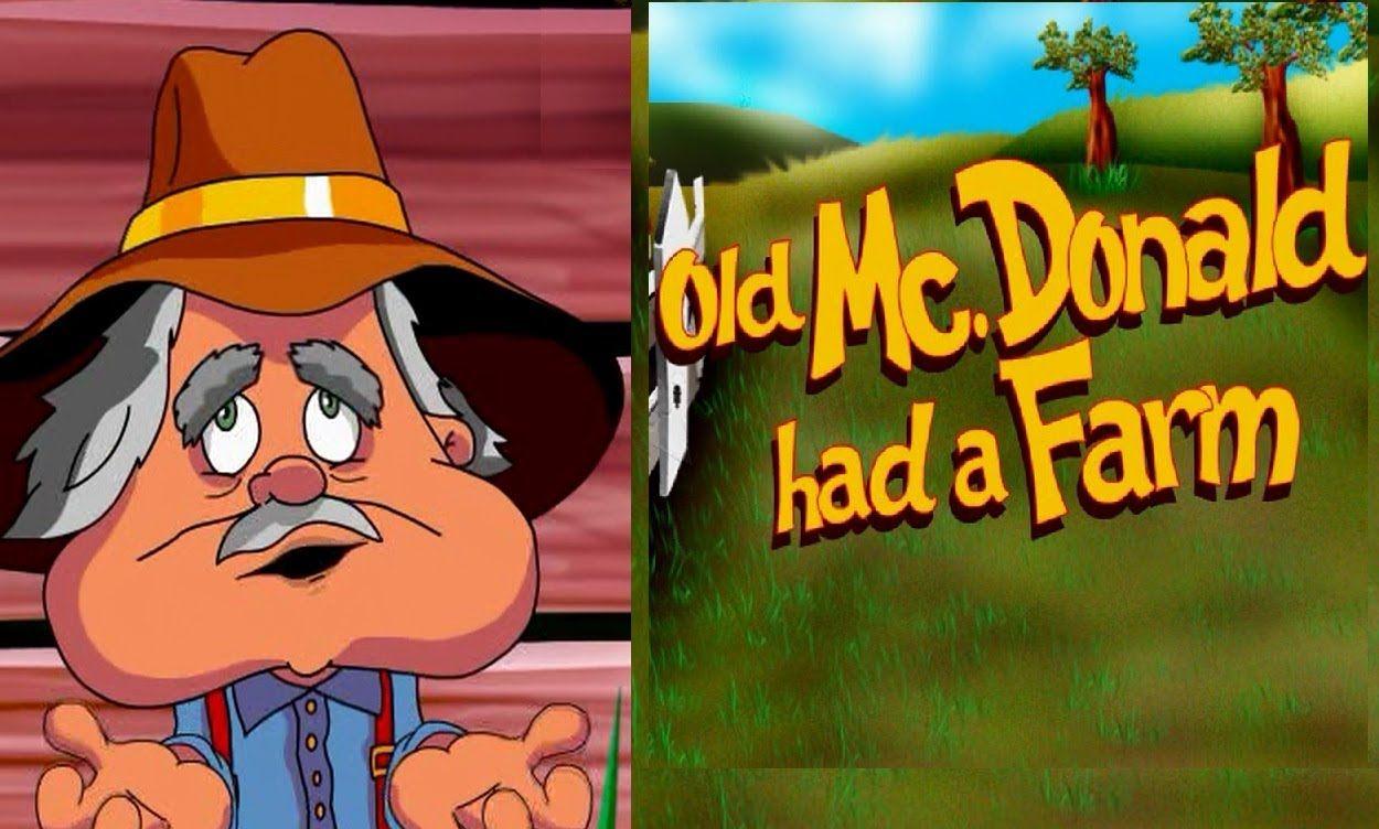OLD MCDONALD HAD A FARM with lyrics Learning spanish