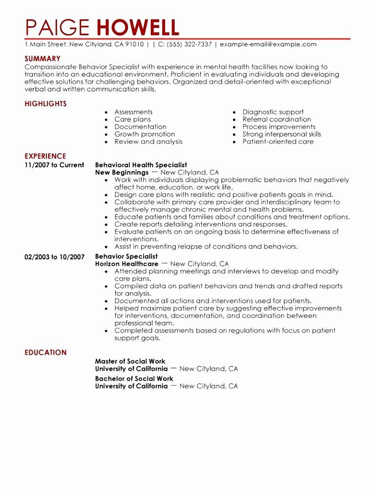 30 Case Management Plan Template in 2020 Resume examples