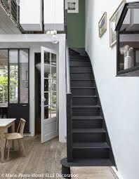 escalier peint noir et blanc - Recherche Google | Escalier ...