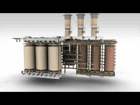 Construction of Rectifier Transformer (Siemens