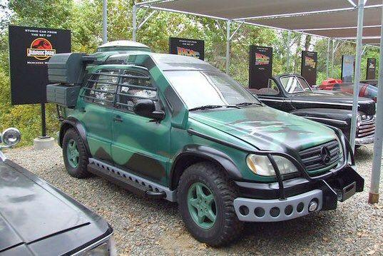 Mercedes Benz M Klasse Jurassic Park Mercedez Benz Autos