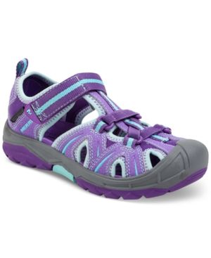 57c5578cb3b1 Merrell Little Girls  or Toddler Girls  Hydro Hiker Sandals - Purple ...