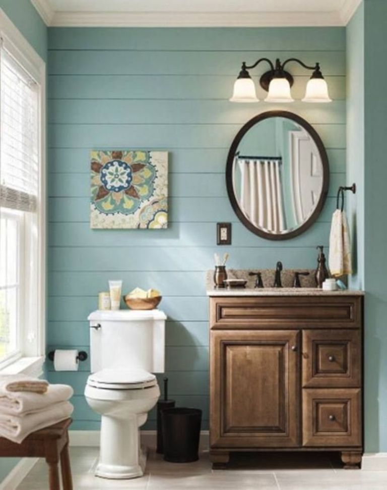 46 Paint Colors Farmhouse Bathroom Ideas Roundecor Bathroom Farmhouse Style Bathroom Remodel Master Small Bathroom Remodel