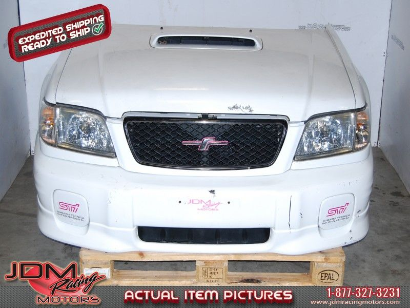 JDM Subaru Forester SF5 STI Front nose cut conversion | JDM Racing