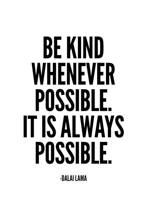 Dalai Lama Quote, Be Kind, Sign, Wall Art Prints ...