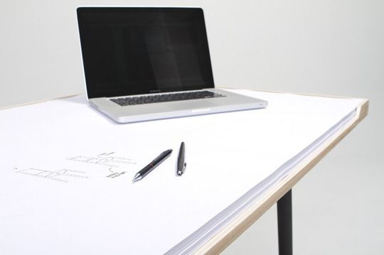 It's a Desk and a Giant Notepad