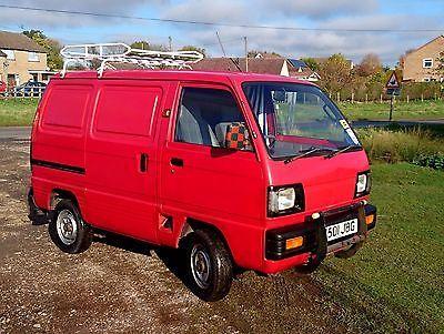 Suzuki Super Carry Van 1 0l Tx Deluxe Stealth Camper