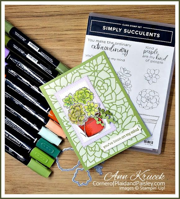 Stampin' Up! Simply Succulents