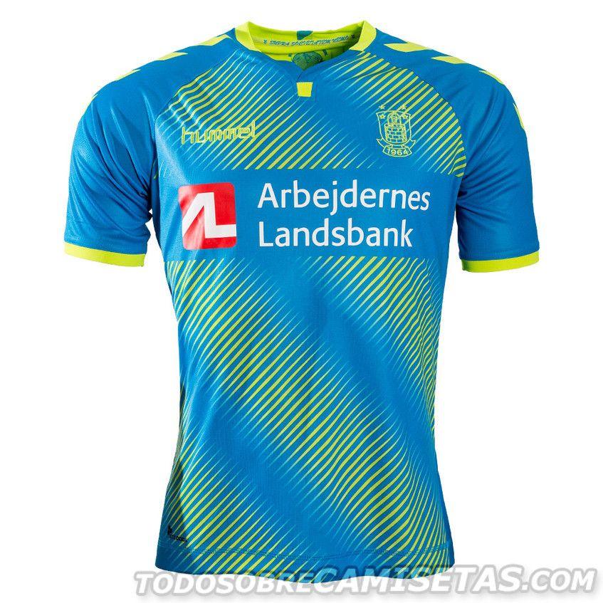 6c59bdedf68 Brondby IF 2017-18 Hummel Third Kit Camisetas Deportivas