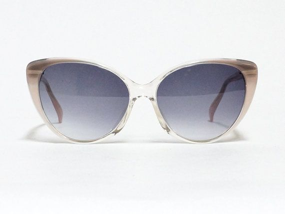 Vintage Cat Eye Sunglasses by Renatro Balestra, Italian eyeglasses, designer sunglasses, cateye glasses frame, 80s eyewear, deadstock