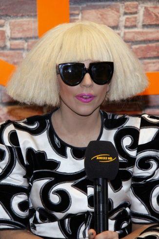 Lady Gaga Short Hair