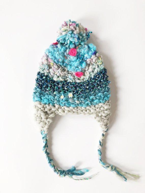 PATTERN // Knitting Pattern for Women, Easy Hat Pattern ...