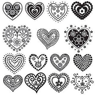 Beautiful Love Baum Mit Herz Muster Herz 7