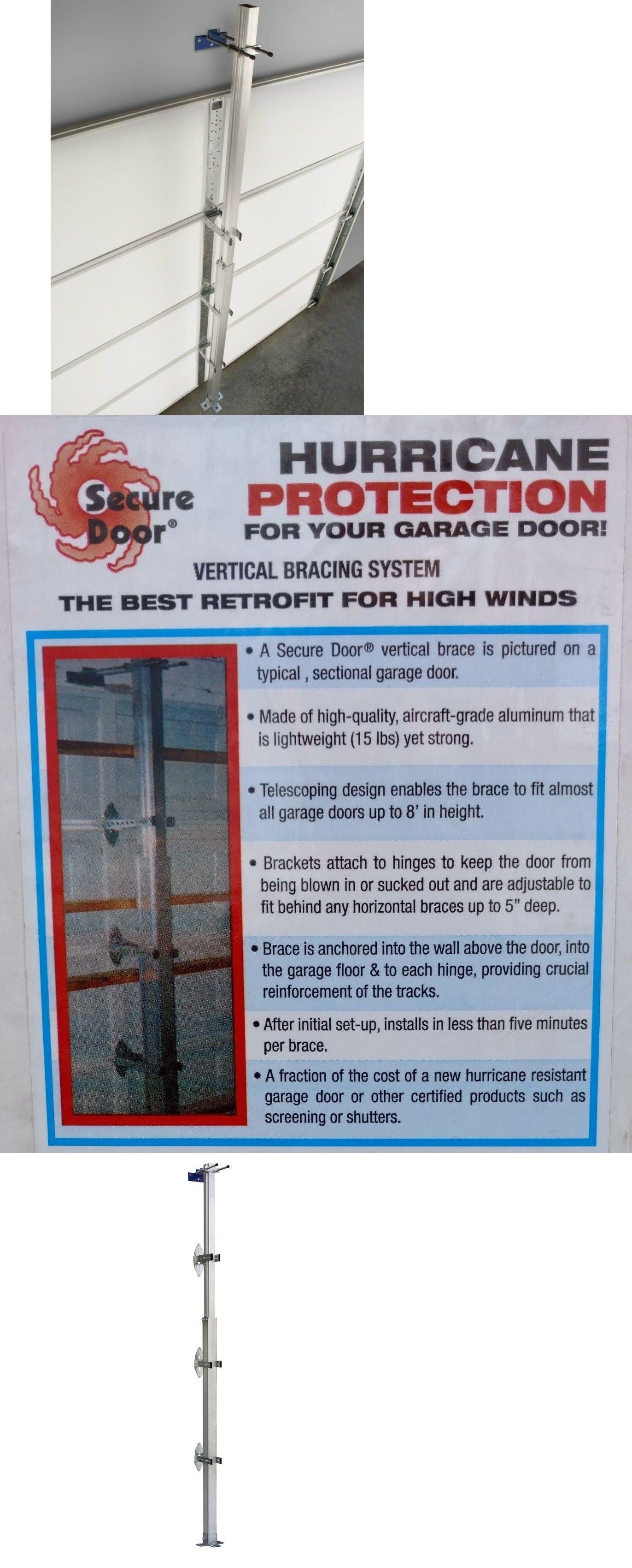 Securing Garage Door Hurricane Httpfranzdondi Pinterest