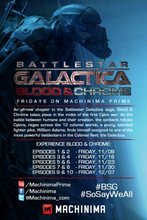 Pin On Sci Fi Battlestar Galactica Blood And Chrome