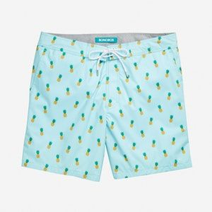 Mens Swim Shorts Blue or Green Striped Bugatti /®
