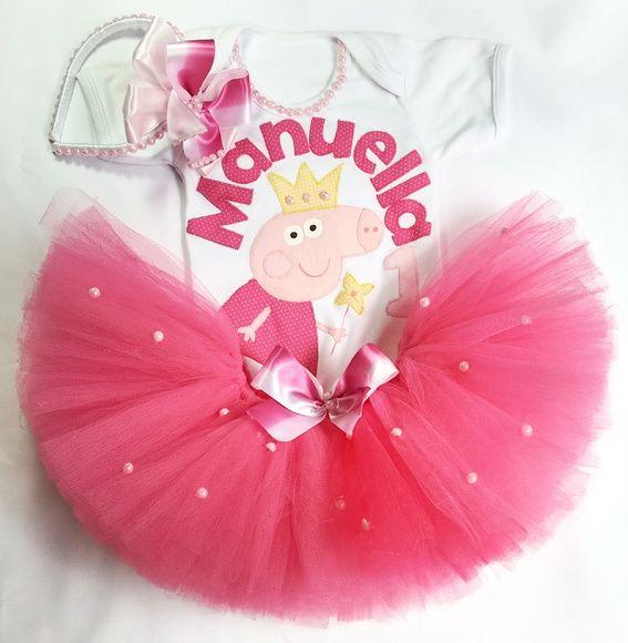 066e2e4efa Kit Festa fantasia Peppa Pig - Manu