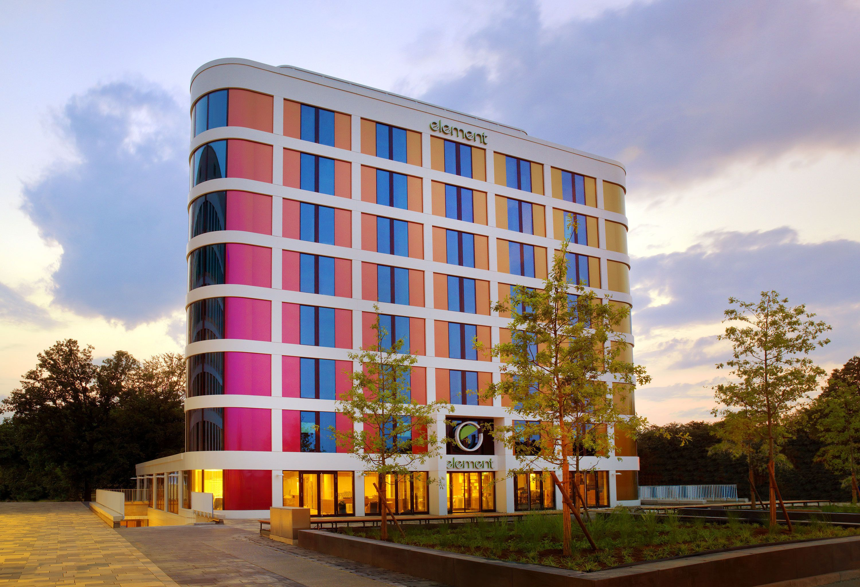 Starwood announces debut of its trailblazing Element brand in Europe with the opening of Element Frankfurt Airport.
