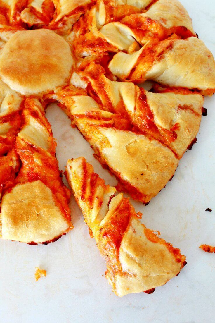 Pizza Star Recipe Put A Twist On Your Favorite Pizza And Make