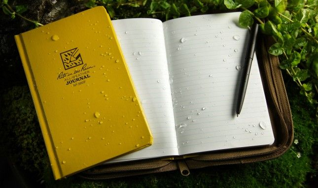Write In The Rain With This Waterproof Paper Traveling By