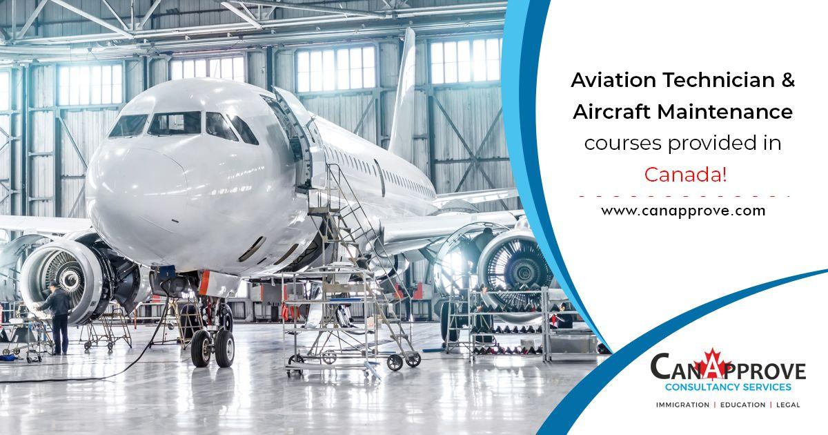 Aircraft Maintenance Diploma In Canada Aircraft Maintenance Aircraft Mechanics Aircraft