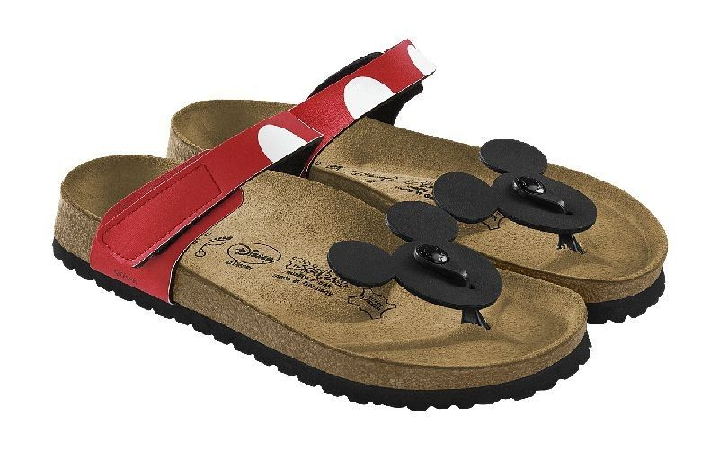 8221f7f1ac33 Birkis by Birkenstock Tofino Sandals Disney Color Mickey Head Birko Flor