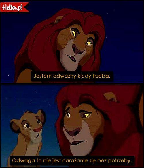 Disney Cytaty Filmowe Z Bajki Król Lew Polskie Cytaty Filmowe