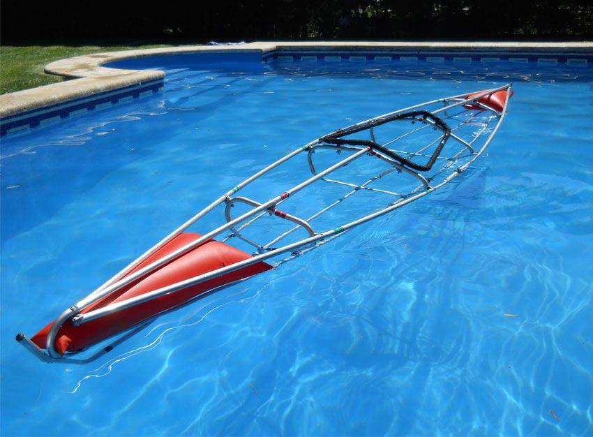 Kayak desarmable single