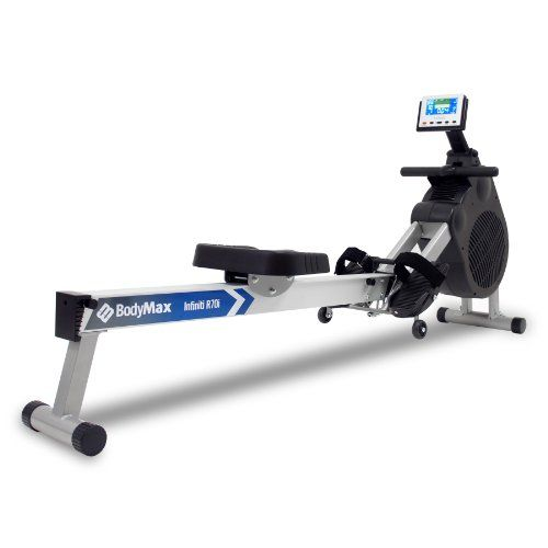 Bodymax infiniti r i rowing machine white bodymaxu exercise