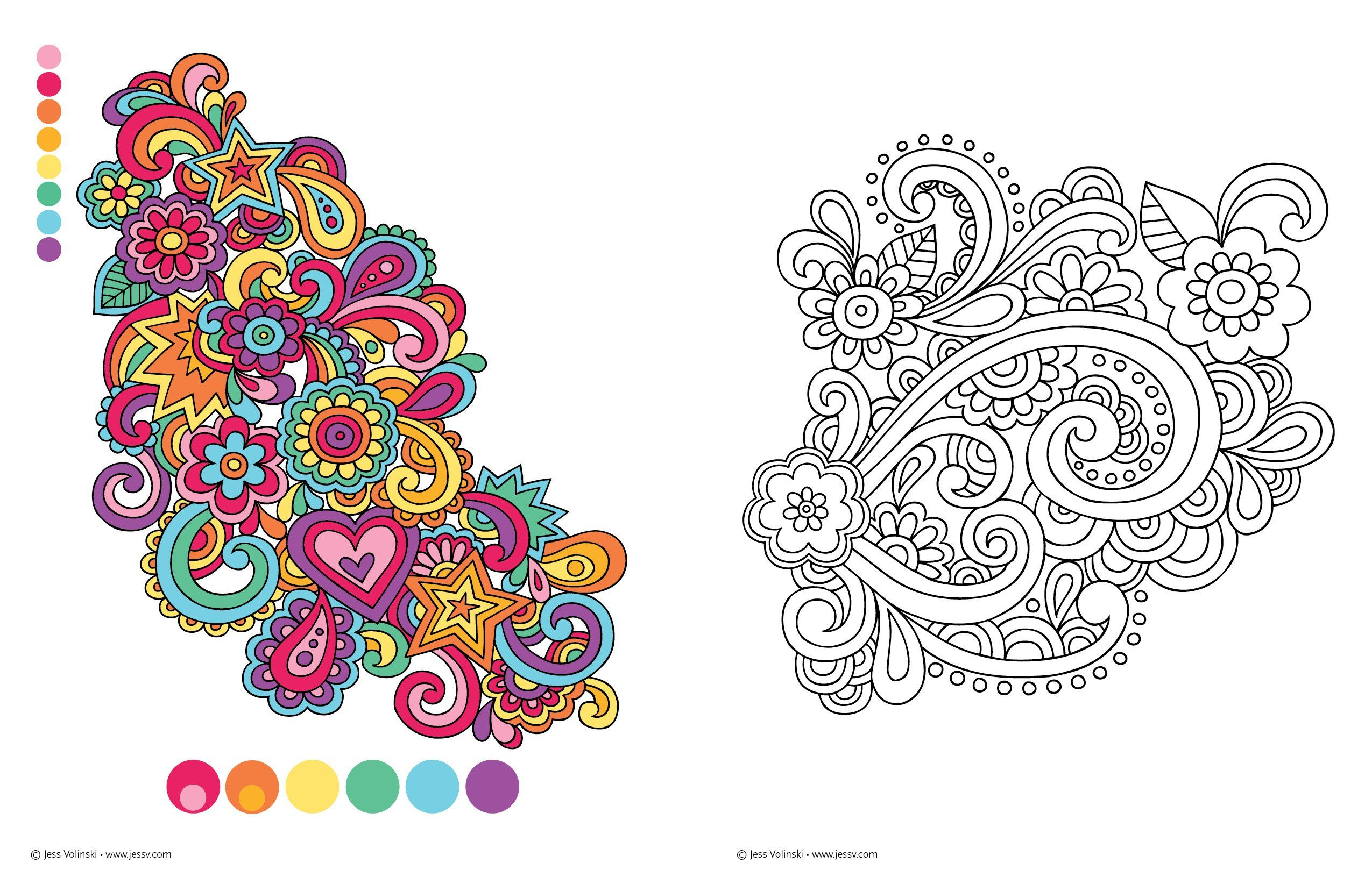 Notebook Doodles Color Swirl Coloring Activity Book Design Originals 32 Curly Swirly Designs Beg Designs Coloring Books Doodle Coloring Notebook Doodles