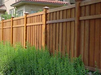 Fence Stain Colors Ideas Yards