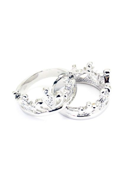 Crown Ring With CZ