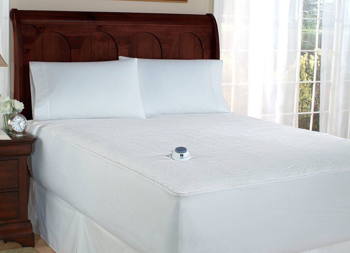 10 Things To Buy If You Re Always Cold Heated Mattress Pad Mattress Pad Mattress