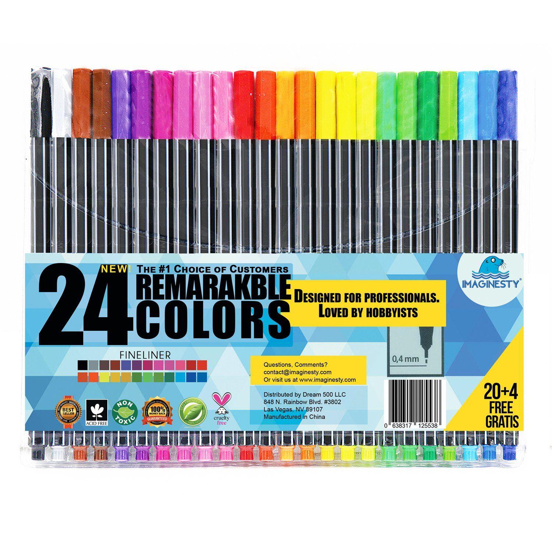 best fine tip pens for coloring fine point pens for coloring books rh letoan co Black Felt Tip Pen Fine Point Felt Tip Pens