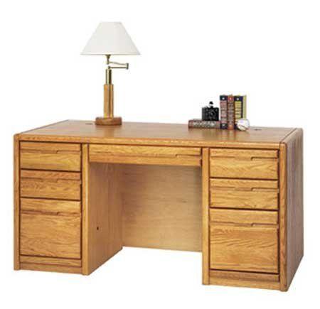 "Genuine Oak Office & Computer Furniture Series - 60""W ..."