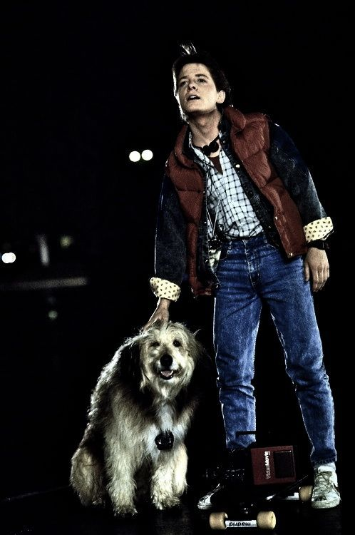 Marty McFly ❤  Michael J. Fox being Handsome & sexy