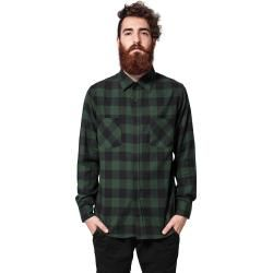 Urban Classics Checked Flanell Flanellhemd Urban ClassicsUrban Classics #ponchodress