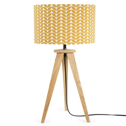 lampe a poser moutarde